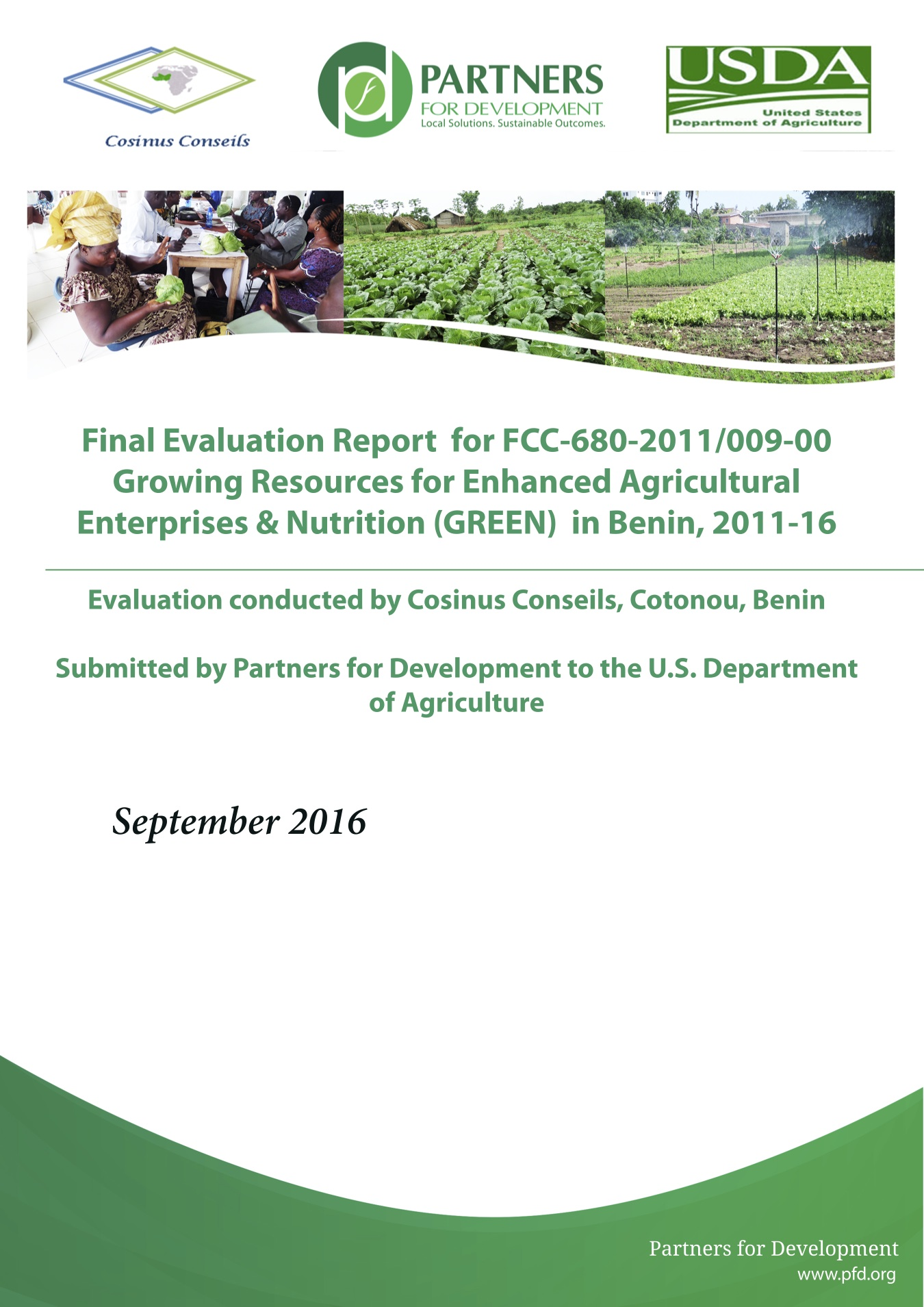 green final evaluation cover 2016